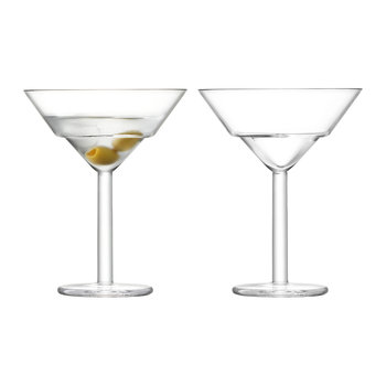 Mixologist Cocktail Martini Glass - Set of 2