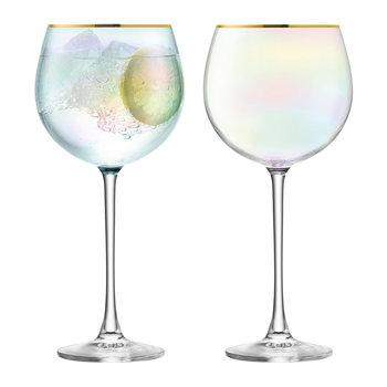Sorbet Balloon Glass - Set of 2 - Nougat