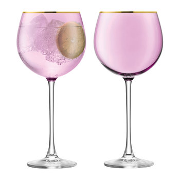 Sorbet Balloon Glass - Set of 2 - Rose