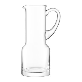 Utility Blown Glass Pitcher - 1.35L - Clear