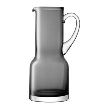 Utility Blown Glass Pitcher - 1.35L - Slate