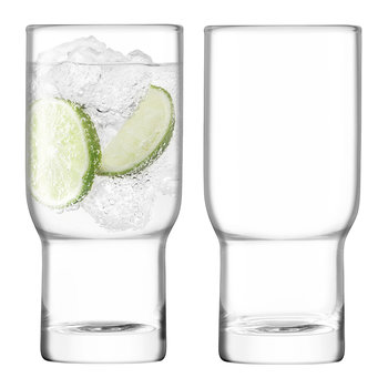 Verre Highball Soufflé Ménage & Droguerie - Lot de 2 - Transparent