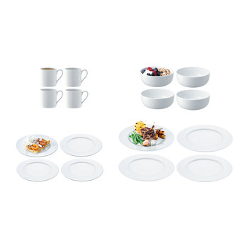 Dine Rimmed 16 Piece Set