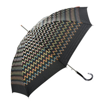 Clara Automatic Umbrella - Long - Black