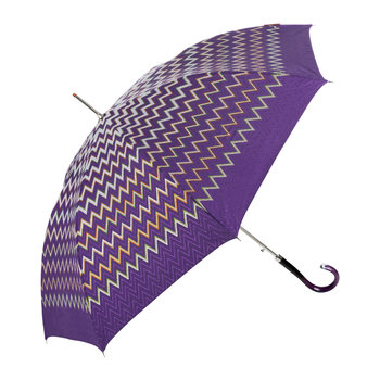 Clara Automatic Umbrella - Long - Purple