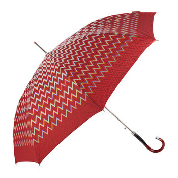 Clara Automatic Umbrella - Long - Red