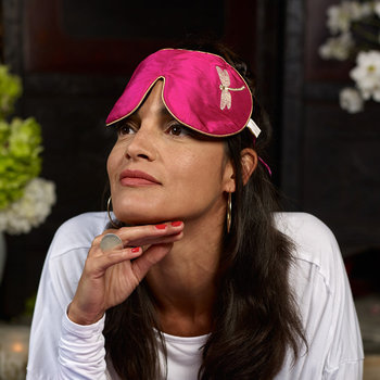 Lavender Eye Mask - Pink