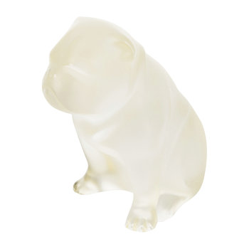Bulldog Sculpture - Gold Luster