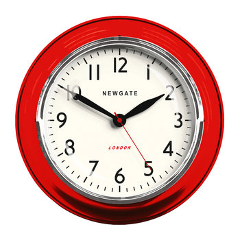 The Cookhouse Wall Clock - Red