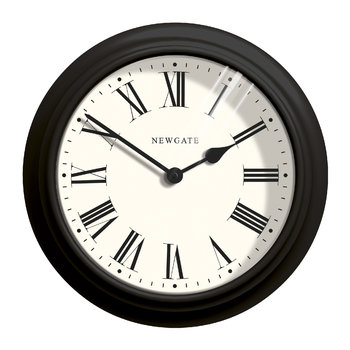 The Large Nantucket Clock - Black