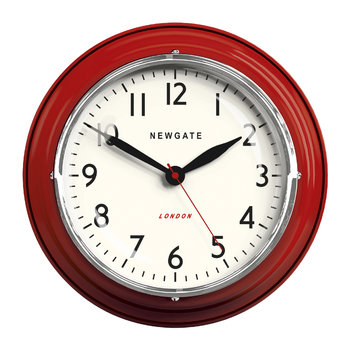 The Mini Cookhouse Clock - Red