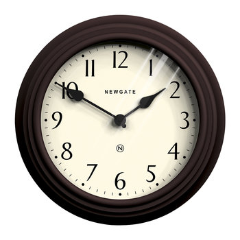 Pimlico Wall Clock - Chocolate Black