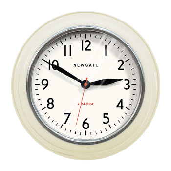 The Mini Cookhouse Clock - Linen White