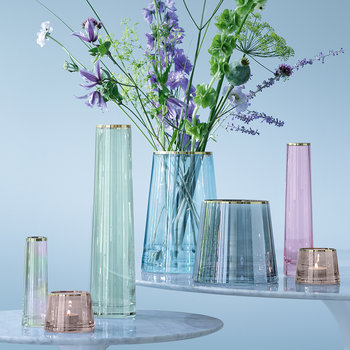 Sorbet Glass Vase - Spearmint - 26cm
