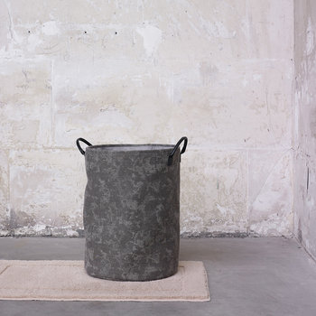 Olav Laundry Basket - Silver Grey
