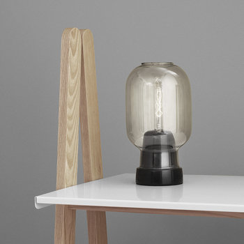Amp Table Lamp - Smoke/Black