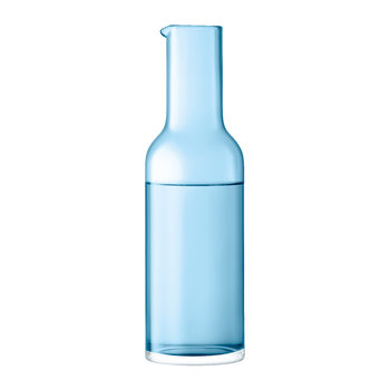 Hint Blown Glass Carafe - 1.2L - Pale Turquoise
