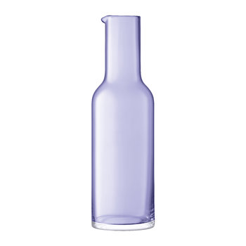 Hint Blown Glass Carafe - 1.2L - Pale Violet