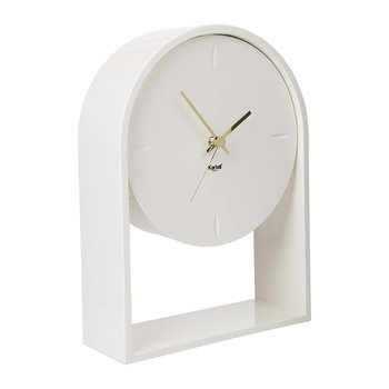 Air Du Temps Clock - Matt White