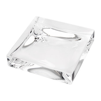 Square Soap Dish - Transparent