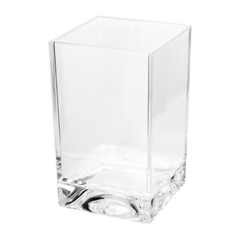 Square Toothbrush Holder - Transparent