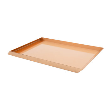Axonometry A4 Desk Tray - Rose Gold