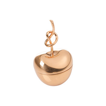 Knotted Cherry Trinket Box - Rose Gold