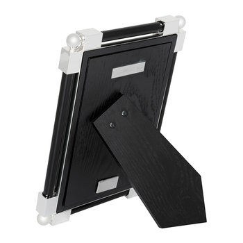 Classic Black Glass Photo Frame