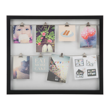 Clipline Photo Display - Black