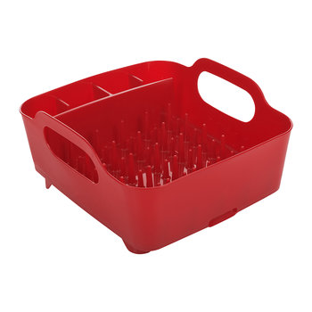 Tub Dish Rack - Red