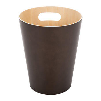 Woodrow Trash Can - Espresso
