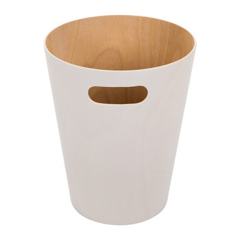 Woodrow Waste Bin - White