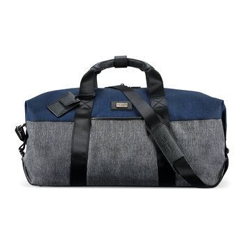 Brunswick Softside Holdall - Grey/Blue