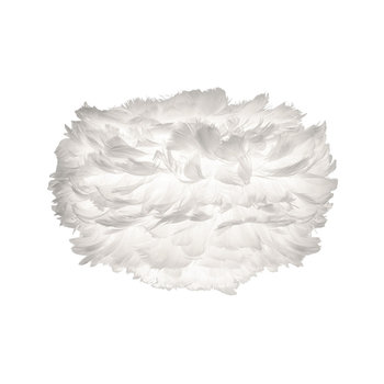Eos Feather Lamp Shade - White - Mini