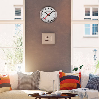 Classic Wall Clock - Silver