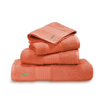 Polo Player Towel - Tangerine