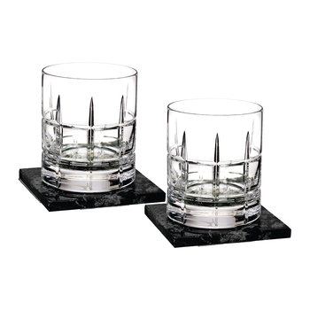 DOF Tumbler & Marble Coaster - Set of 2 - Cluin