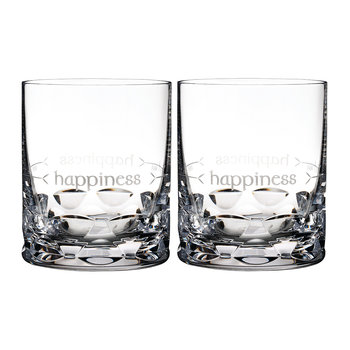 Ogham DOF Tumbler - Set of 2 - Happiness