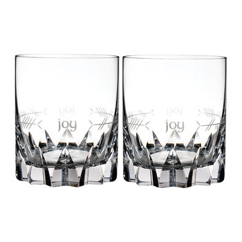 Ogham DOF Tumbler - Set of 2 - Joy
