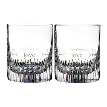 Ogham DOF Tumbler - Set of 2 - Love