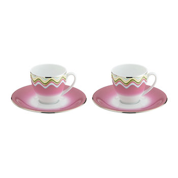 Margherita - Coffee Cup & Saucer - Set of 2