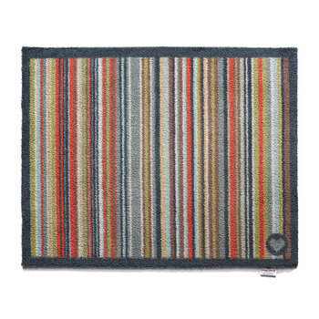 Contemporary Collection Stripe 32 Door Mat - Multi