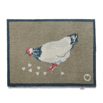 Country Collection Door Mat - Chicken