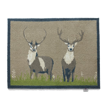 Deer Washable Recycled Door Mat - 65x85cm