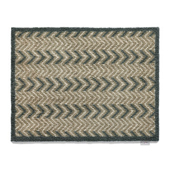 Home/Garden Collection Door Mat - Dugdale 10 - Brown/Grey