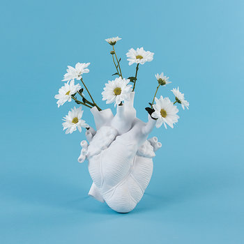 Love In Bloom Porcelain Heart Vase