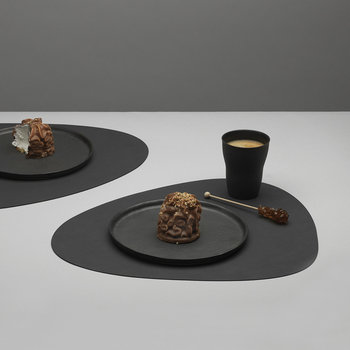 Curve Table Mat - Anthracite