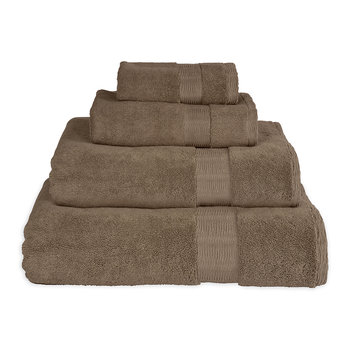 Mercer Plain Dye Towel - Grey Stone