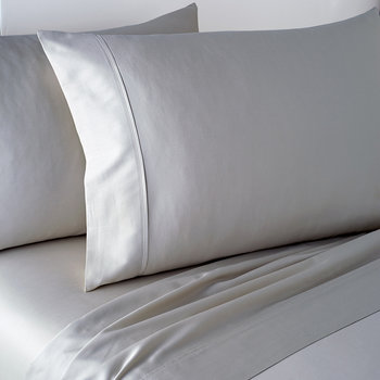 Plain Dye Fitted Sheet - Platinum