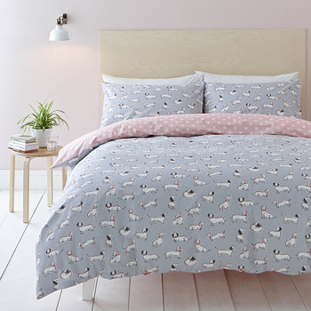 Mono Dog Duvet Set